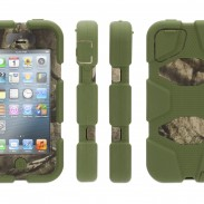 Griffin's military-grade Survivor cases now available in world-famous Mossy Oak camouflage, with new accessories for iPhone 4/4S/5 and iPad 2/3/4th gen.