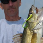 Crawler harnesses are working well for Lake Erie, St. Clair River, and Saginaw Bay walleyes.
