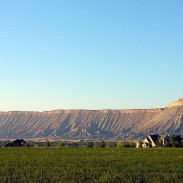 The Book Cliffs are a 200-mile-long stretch of desert mountains and cliffs running through Colorado and Utah.