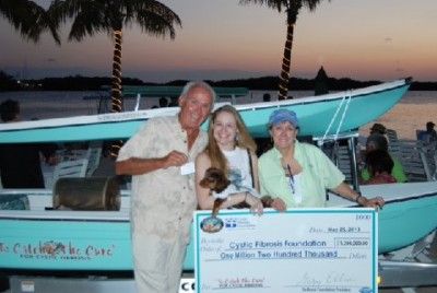 "The Redbone recently celebrated its 25th annual ""Fruits of our Labors"" BBQ cookout for the hard work and money raised from its 2012 series of fishing tournaments for cystic fibrosis medical research efforts."