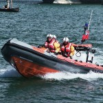 The majority of RNLI rescue crews are unpaid volunteers whose training and equipment are funded by local city councils. The organization performs nearly 20 rescues per day in the waters around Great Britain, Ireland, the Channel Islands, and the Isle of Man.