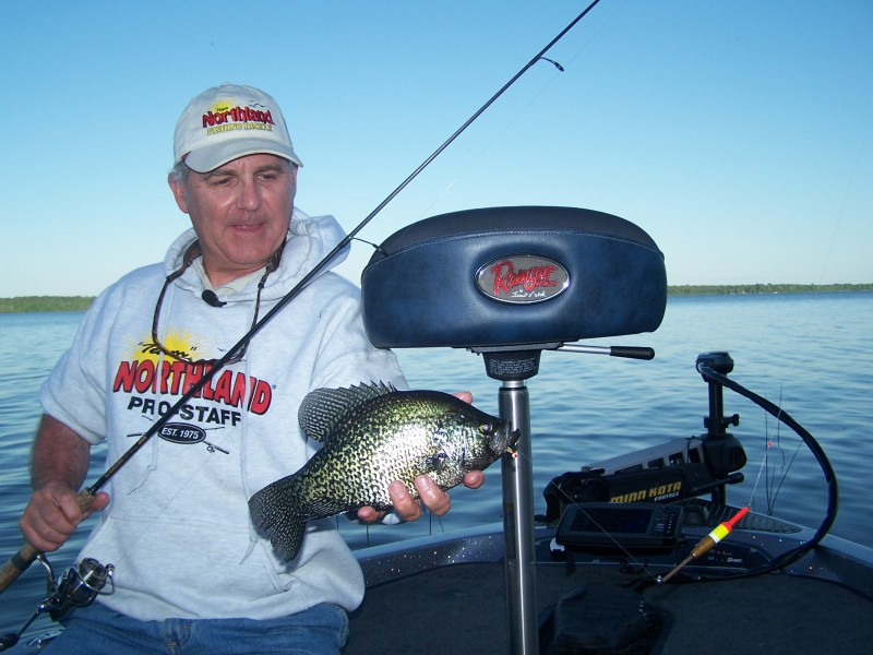 If you can find crappie in the fall, chances are they'll bite.