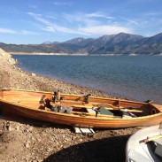 Patrick Durkin's boats tied up downhill from his elk bowhunting campsite in southeastern Idaho.