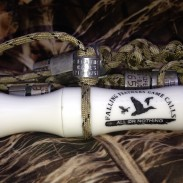 The Sidewinder duck call by Falling Feathers Game Calls.