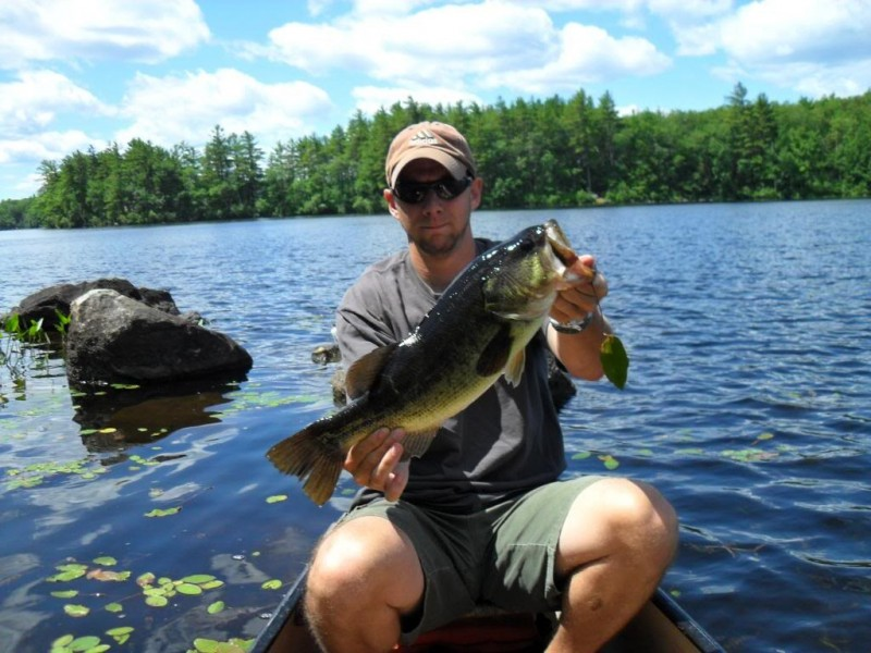 Fantasy win upgrades new hampshire angler from canoe to for Bass fishing nh