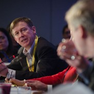 Colorado Governor John Hickenlooper was a driving force behind the passage of Colorado's new gun laws, but now he says it might be a good idea for national gun control groups to stay out of Colorado politics.