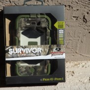 The Griffin Survivor iPhone 4/4S case.