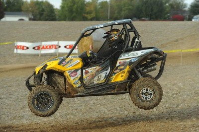 Tim Farr (JB Racing / Can-Am) ended the 2013 GNCC UTV season by winning the Ironman finale in Indiana.