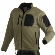 The Firepower Fleece Vest and Jacket are comfortable mid-weight polyester fleece.