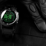 Garmin's tactix GPS navigator and ABC watch.