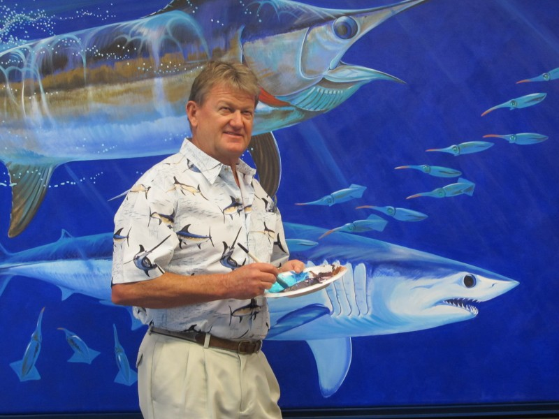 Guy Harvey inspired banquet and fundraiser supports scientific research and education to safeguard healthy oceans.