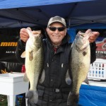 Nick Albano of Bergen Bassmasters took 1st place with a weight of 19.75 lbs, and a large fish of 5.85 lbs.