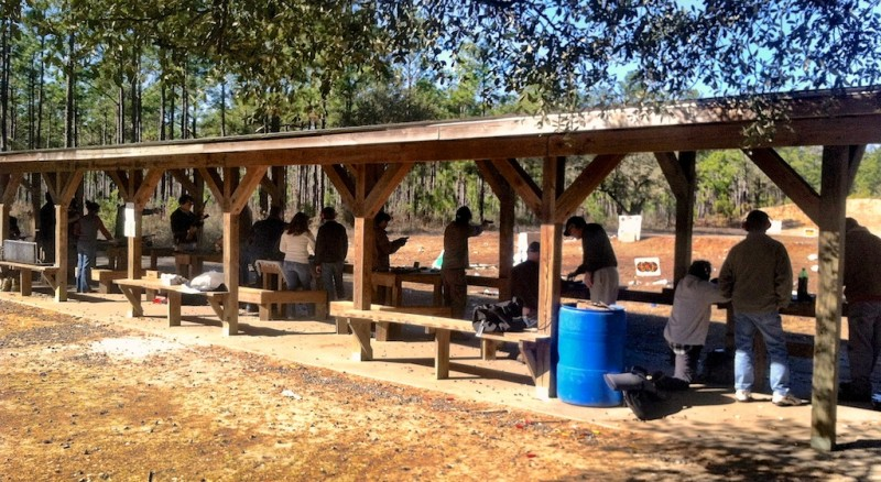 Open shooting ranges especially can benefit from good neighborly conduct.