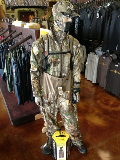Wear your Scent Blocker gear and your Tree Spider safety harness. Scent-free and safe is the only way to hunt!
