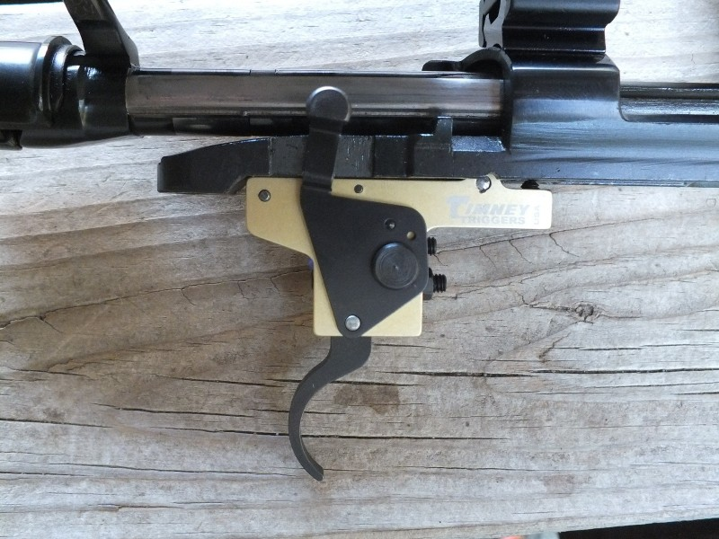 The Timney REM trigger is simple to install because Timney has done their work. Replace the mounting pin and lock the trigger in place with the set screw and you're ready to run.