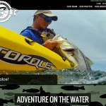 Johnson Outdoor's new AdventureOnTheWater website.