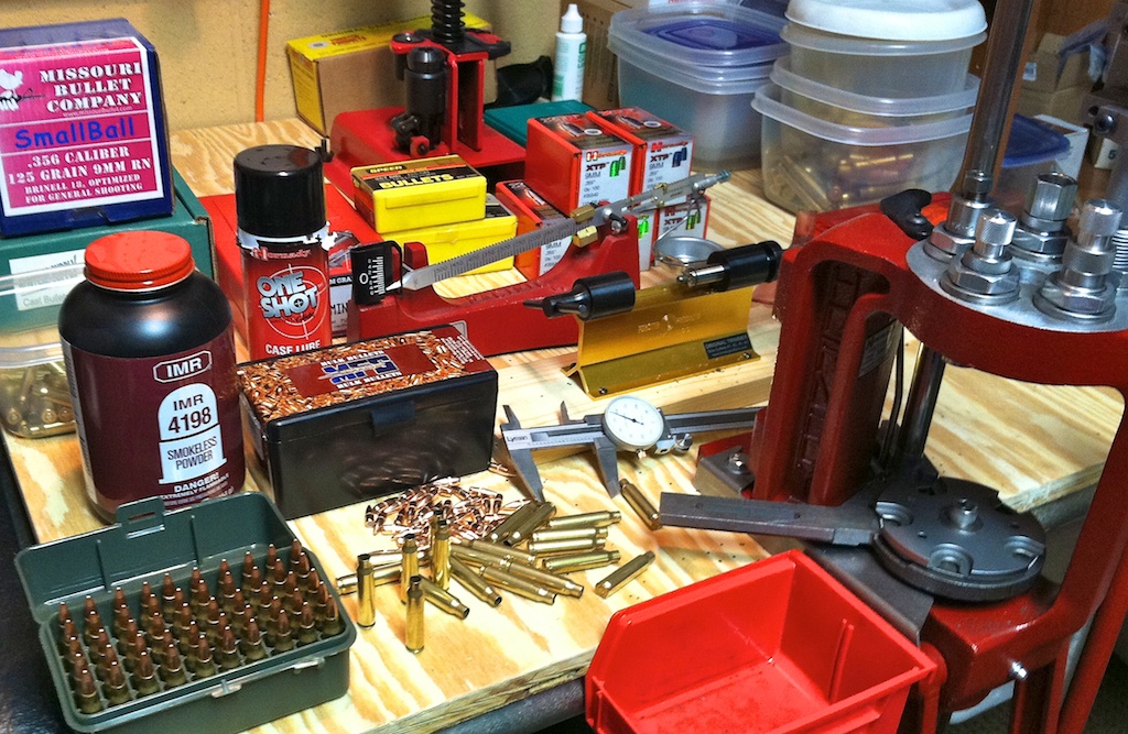 Vintage Signed Table Clamp Bullet Reloading Press Ammo ... |Rifle Bullet Reloading Table