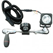 The BCML-LEDP1X10WRE high intensity bar clamp mounted LED light.