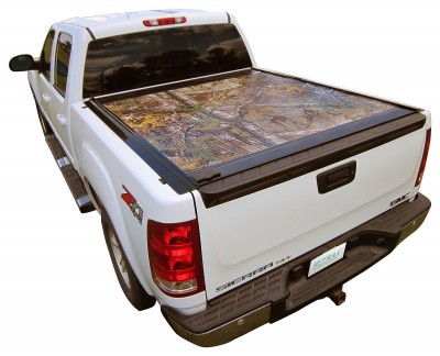 RetraxONE camo truck bed cover by Realtree.