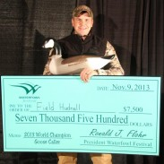 Ducks Unlimited TV host Field Hudnall claimed his second World Championship Goose Calling Contest win.