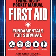 Living Ready Pocket Manual: First Aid by Dr. James Hubbard.