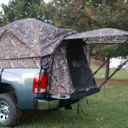 The new Mossy Oak Break-Up Infinity Napier tent.