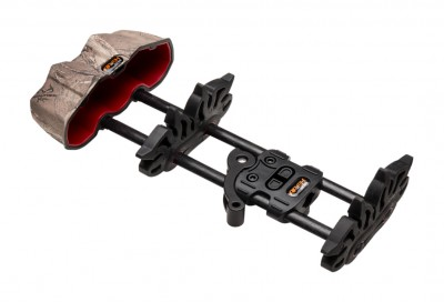 A fresh approach to a versatile low-profile 5-arrow crossbow quiver.