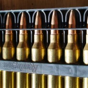 Remington Managed Recoil ammunition helps reduce the kick from a rifle.