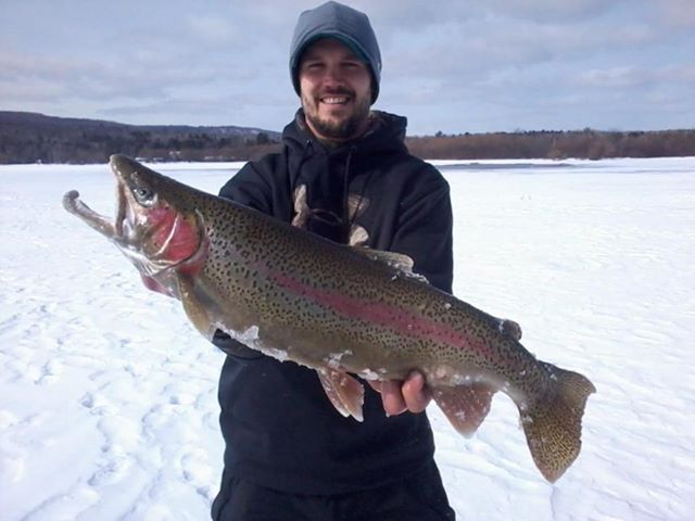 This week on outdoors radio writer mark labarbera for Ashland wi fishing report