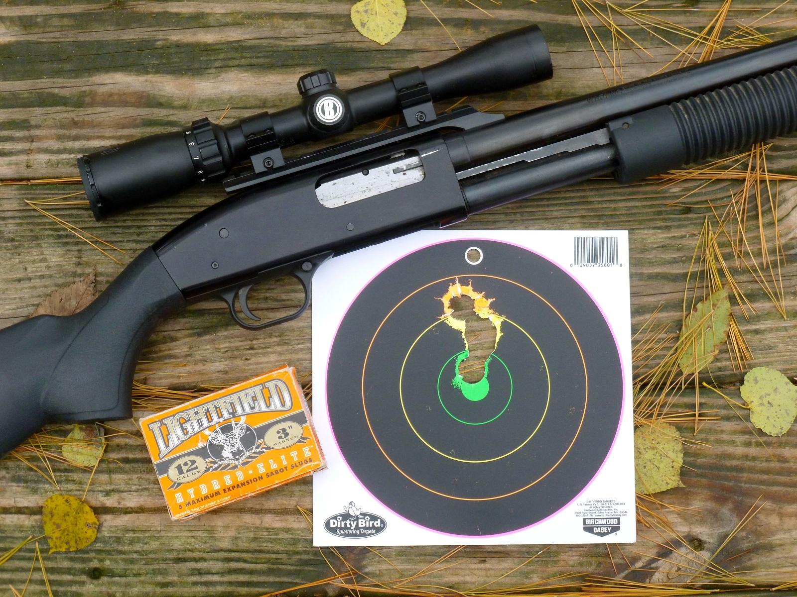 slug shotgun accuracy sight michigan outdoorhub practice