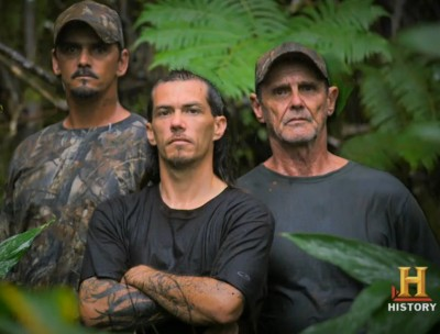 History Channel's new show delves into the hunting culture of Hawaii.