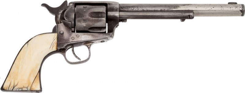 This Colt Single Action Army .45 revolver is believed to have once belonged to Jesse James.