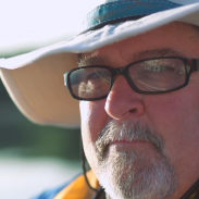 After more than two decades on a kayak, Jim still looks forward to his next trip.