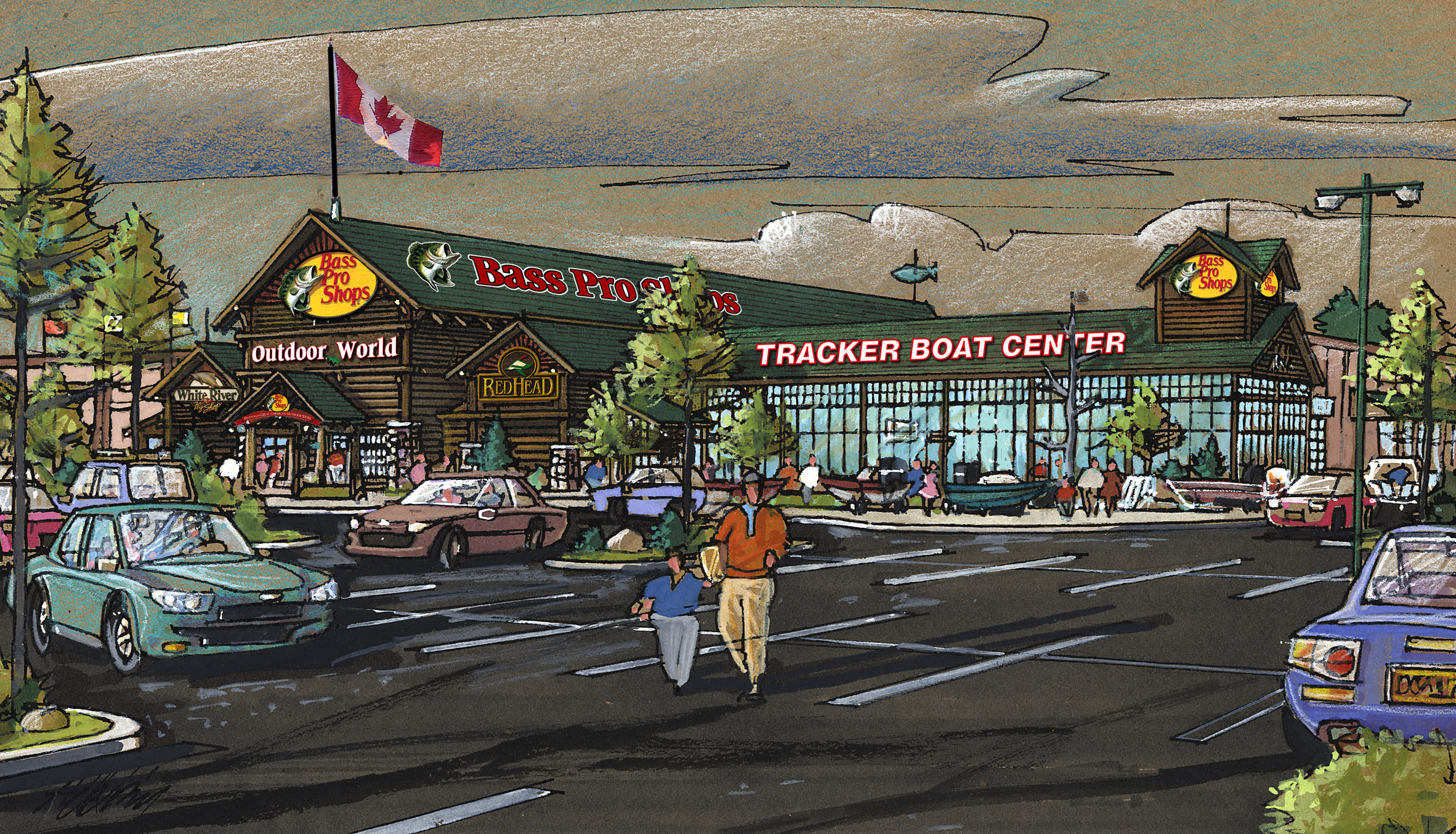 bass pro shops announces plans to open canadian store in