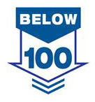 Below 100 logo