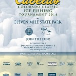 Cabela's Ice Fishing tournament 2014