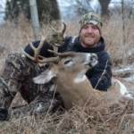 Robinson Outdoor Products' Jason Herbert harvested this Michigan nine-point on a recent muzzleloader hunt.