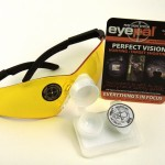 "EyePal eliminates ""fuzzy sight syndrome"" for open-sight shooters and archers giving them a clear view of their sights and the target."
