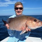 Dr. Jan Forszpaniak caught and released an impressive 58 cm grey snapper