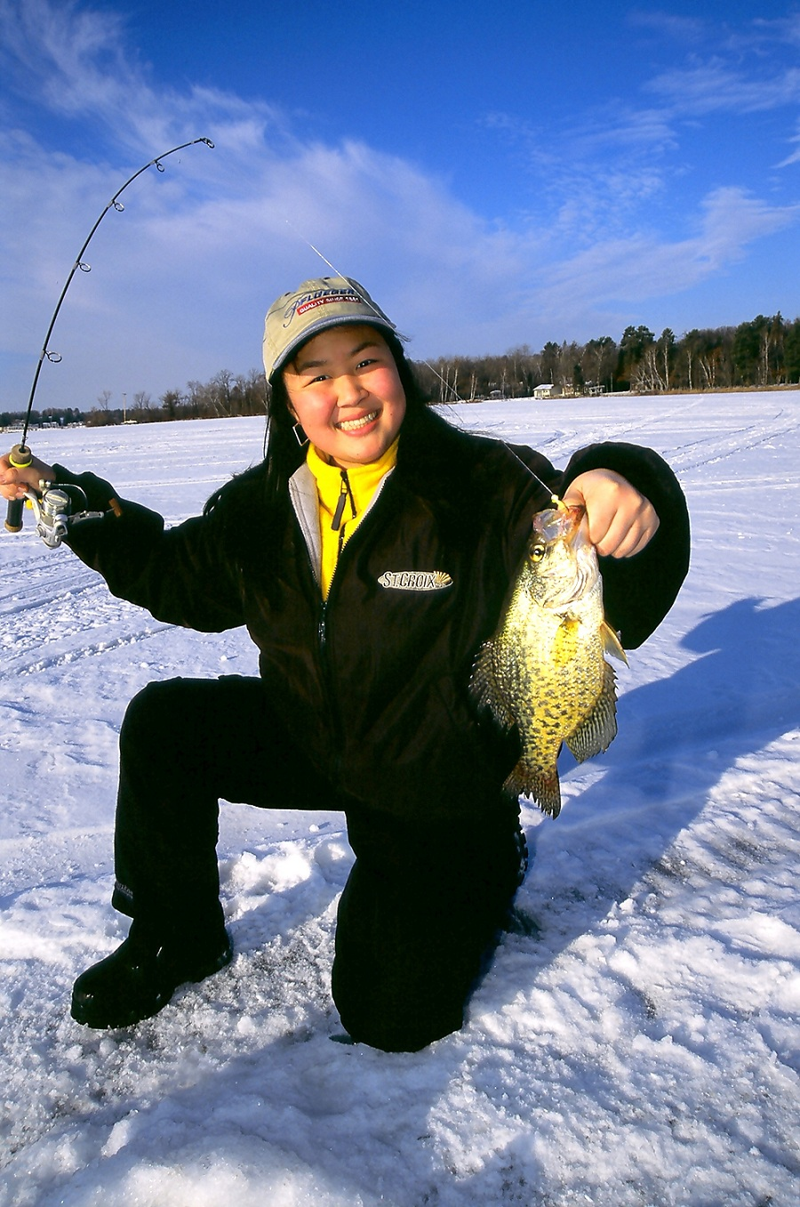 Glow in the dark ice fishing outdoorhub for How to ice fish
