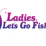 Ladies, Let's Go Fishing logo