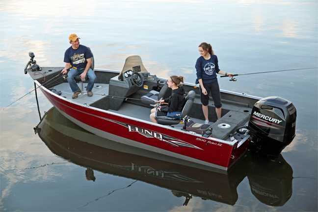 Lund's Bold New Fishing Boat Shows its Rebellious Side ...