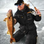 The first female professional walleye tour champion, Marianne Husky, will join an all-star cast at Frabill's exhibit.