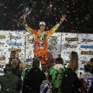 Marvin Musquin wins the Supercross Geneva SX1 class.