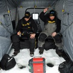 New Frabill ice fishing gear awes anglers and blows through stores.