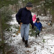 The holiday season is a great time to get every member of the family outdoors, even if it isn't to hunt or fish. Image courtesy US Forest Service.