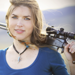 Kirsten Joy Weiss, performance shooter and competitor.