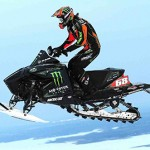 Tucker Hibbert led Team Arctic at the ISOC National Snocross race.