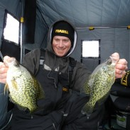 Though the Great Lakes are often lauded for their trophy walleyes, they've got a lot to offer ice anglers in the panfish department, too.