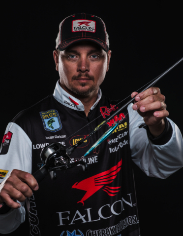 Falcon rods signs as title sponsor for bass pro jason for Jason christie fishing